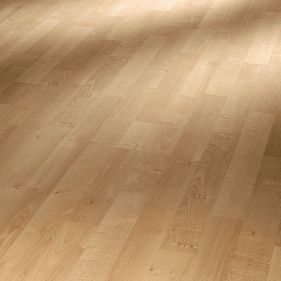 PARADOR Laminat Basic 200 Ahorn Natur Schiffsboden 3-Stab Holzstruktur ohne Fuge, Artikel-Nr.: 1426411 – Bild 1