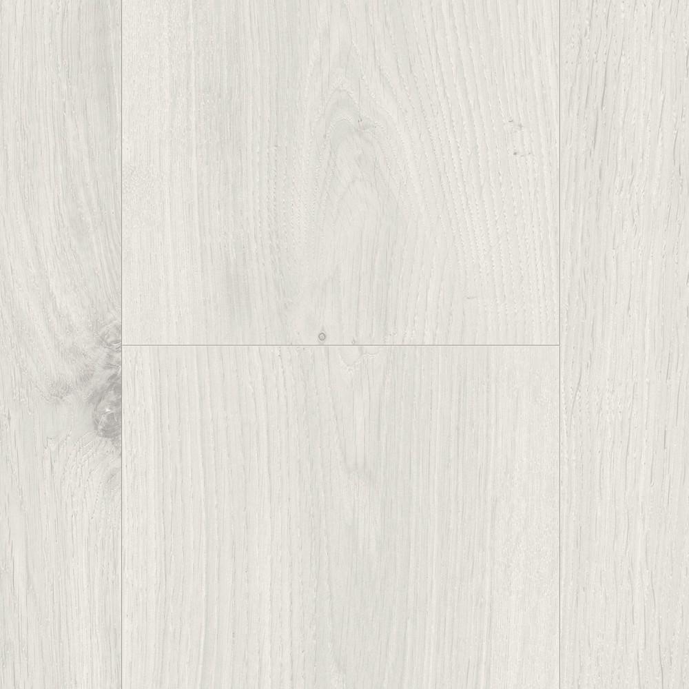 PARADOR Laminat Basic 400 Eiche kristallweiß Holzstruktur Landhausdiele Mini-4V-Fuge – Bild 2