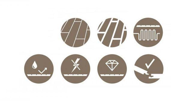 Parador Laminat Eco Balance 7-32 Eiche schiefergrau Landhausdiele 1-Stab seidenmatte Struktur 4-seitige Mini V-Fuge Artikel-Nr.: 1429974 – Bild 7