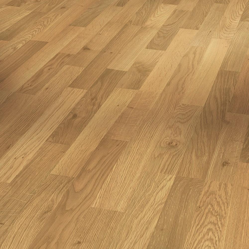 PARADOR Laminat Classic 1050 Eiche natur Holzstruktur ohne Fuge Schiffsboden 3-Stab – Bild 1