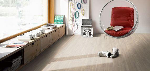PARADOR Vinyl Basic 30 Wildapfel gebleicht Holzstruktur Landhausdiele mit Trägerplatte – Bild 5