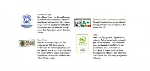 PARADOR Parkett Trendtime 8 Landhausdiele 1-Stab Eiche handscaped gebürstet 4V Classic naturgeölt – Bild 15