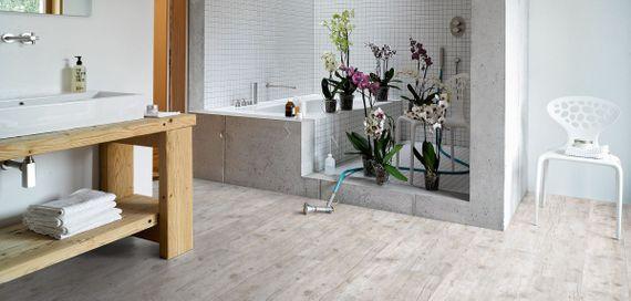 PARADOR Vinyl Classic 2050 Altholz geweißt Gebürstete Struktur Landhausdiele Vollmaterial, Artikel-Nr.: 1513565 – Bild 4