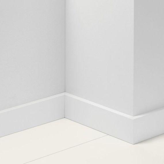 Parador 70mm Sockelleiste SL 18 Uni weiß D001 Artikel-Nr.: 1138297 – Bild 1