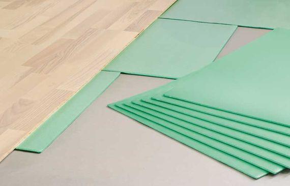 PRINZ Trittschalldämmung / Unterboden 5 mm XP Silent Felt Platten für Laminat Vinyl und Parkett Artikel-Nr.: 88012