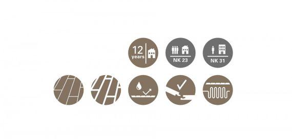 PARADOR Laminat Basic 200 Eiche geschliffen Landhausdiele 1-Stab ohne Fuge – Bild 9