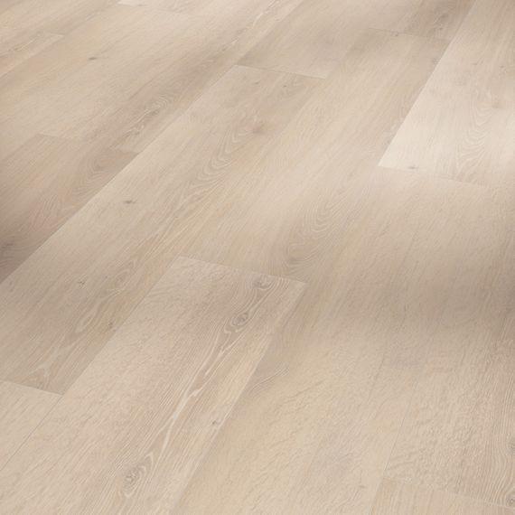 PARADOR Vinyl Basic 30 Eiche Skyline weiß Holzstruktur Landhausdiele mit HDF-Trägerplatte – Bild 1