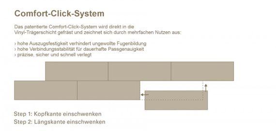 PARADOR Vinyl Basic 4.3 Eiche Studioline geschliffen Gebürstete Struktur Landhausdiele – Bild 10