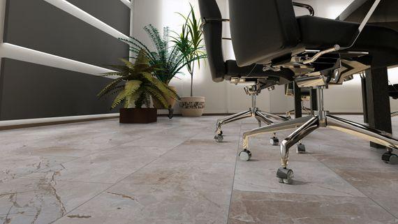 KRONOTEX Laminat Mega plus Dekor Naxos D3000 Fliesenoptik XL 4V-Fuge – Bild 3