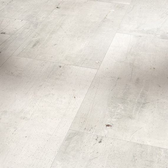 PARADOR Laminat Trendtime 5 Antik weiß Ölstruktur 4-V-Fuge Fliesenoptik – Bild 1