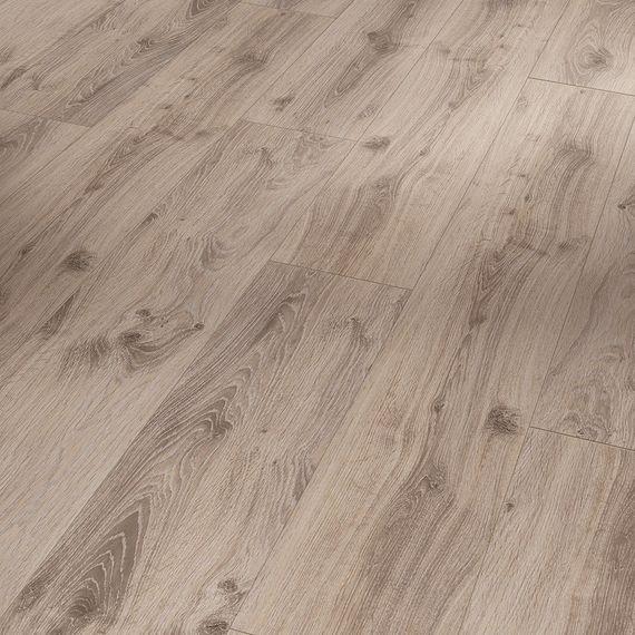 PARADOR Laminat Classic 1050 Eiche Tradition grau-beige Eleganzstruktur 4-V-Fuge Landhausdiele Artikel-Nr.: 1517691 – Bild 1