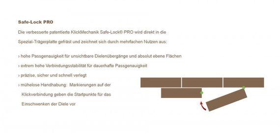 PARADOR Laminat Classic 1050 Eiche Tradition natur Eleganzstruktur 4-V-Fuge Landhausdiele – Bild 10
