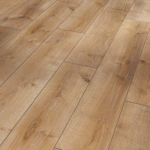 PARADOR Laminat Classic 1050 Eiche Monterey leicht geweißt Seidenmatte Struktur 4-V-Fuge Landhausdiele Artikel-Nr.: 1517684  – Bild 1