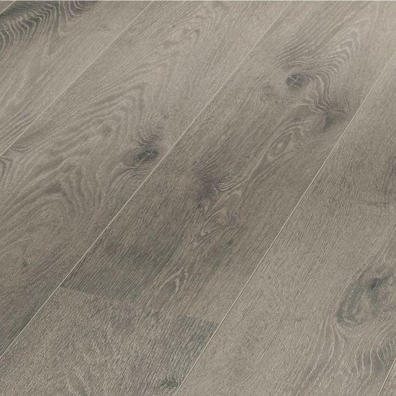 MEISTER Laminat LD 300/20 Melango Dekor Eiche grau 6132 Langdiele V-Fuge – Bild 1