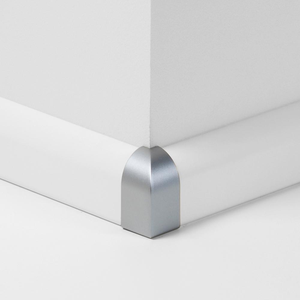 Parador Innenecke Außenecke Typ 1 Alu Optik für Sockelleiste SL2