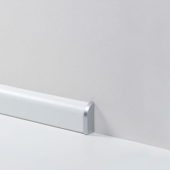 Parador Abschlußkappe Endkappe Typ 2 Alu Optik für SL 2 Sockelleiste