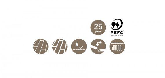 PARADOR Parkett Eco Balance LHD 1-Stab Eiche basalt gebürstet M4V Classic, naturgeölt – Bild 8