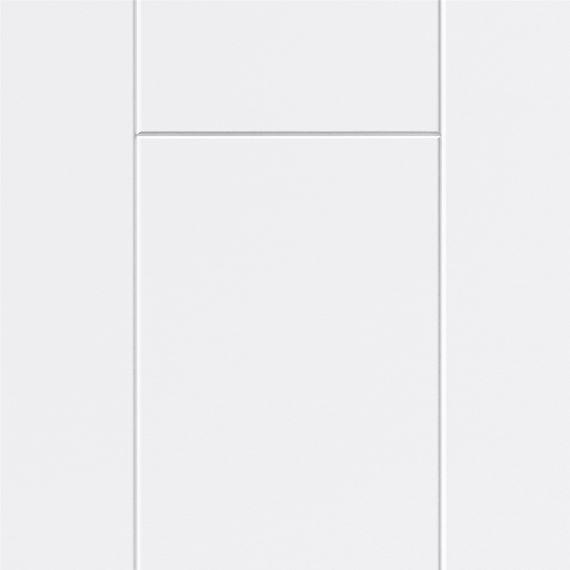 PARADOR Paneele Wand Decke Novara Seidenmatt weiß 2570 mm 1602369 umlaufende Null-Fuge – Bild 2