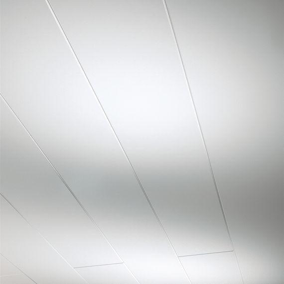PARADOR Paneele Wand Decke Novara Weiß hochglanz 2570 mm 1258130 umlaufende Null-Fuge – Bild 1