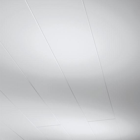 PARADOR Paneele Wand Decke Novara Seidenmatt weiß 2050 mm 1602368 umlaufende Null-Fuge – Bild 1
