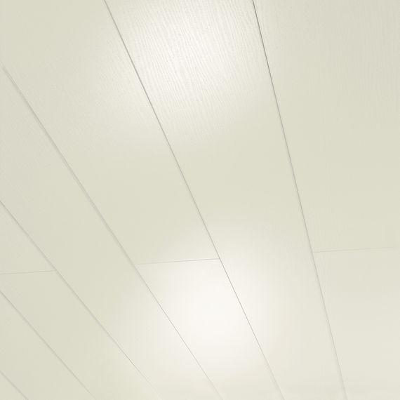 PARADOR Paneele Wand Decke RapidoClick Esche weiß glänzend geplankt 2050 mm 1258513 Design Fuge – Bild 1