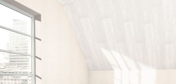 PARADOR Paneele Wand Decke RapidoClick Pinie weiß 2050 mm 1602421 Design Fuge – Bild 4