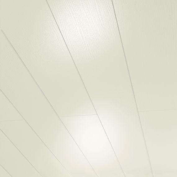 PARADOR Paneele Wand Decke RapidoClick Esche weiß glänzend geplankt 2585 mm 1134599 Design Fuge – Bild 1