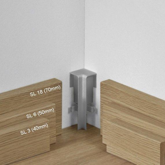 Parador Innenecke höhenvariabel Typ 2 Alu Optik für SL 3, SL 5, SL 6, SL 18 – Bild 1