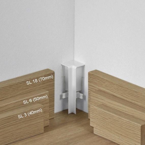 Parador Innenecke höhenvariabel Typ 2 Weiß für SL 3, SL 5, SL 6, SL 18 – Bild 1