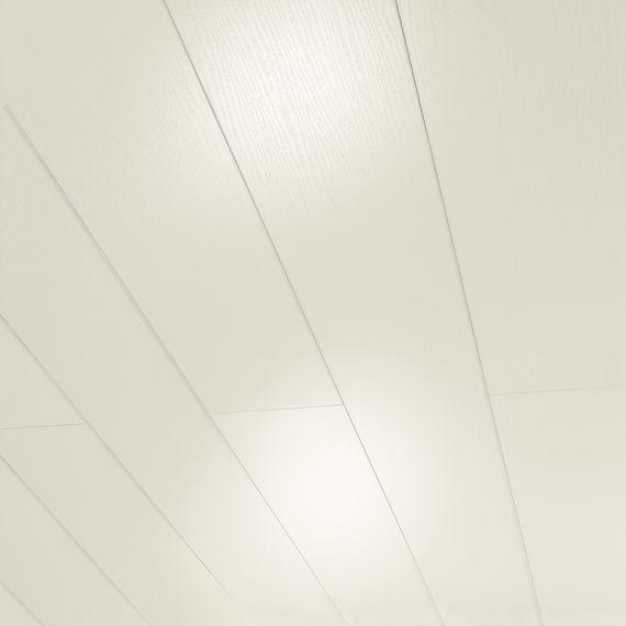 PARADOR Paneele Wand Decke MilanoClick Esche weiß glänzend geplankt 2585 mm 1258526 Design Fuge – Bild 1