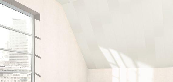 PARADOR Paneele Wand Decke MilanoClick Esche weiß glänzend geplankt 2585 mm 1258526 Design Fuge – Bild 4