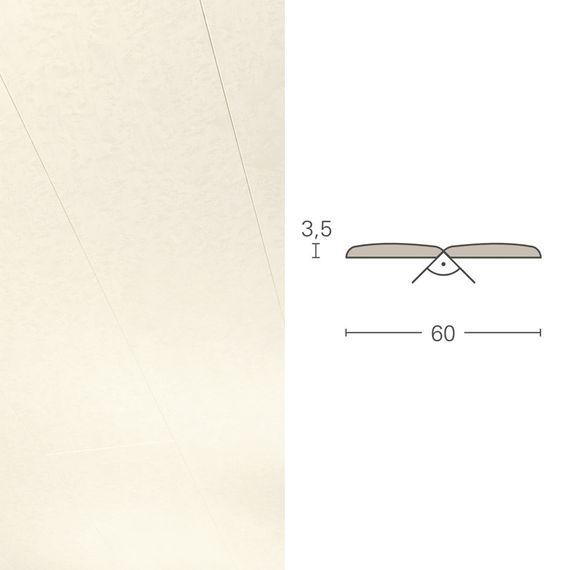 PARADOR Deckenleiste Falzleiste FAL Romana 1174040 Dekor (3,5 x 60 mm) – Bild 1