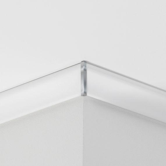 PARADOR Außenecken Alu-Optik 279313 für Deckenabschlussleisten DAL 2
