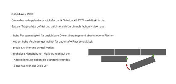 PARADOR Laminat Edition 1 Dekor Circuit Board 1371378 Ross Lovegrove Mini 4V-Fuge Individuelle Dielenoptik – Bild 10
