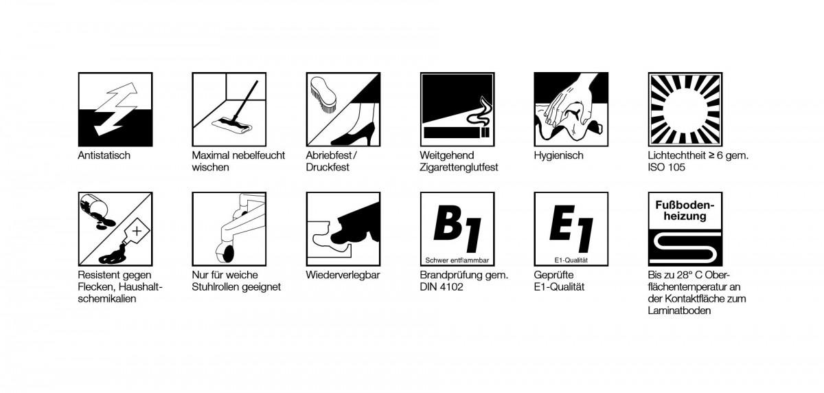 ELESGO Laminat Superglanz Hochglanz Brilliant Life Maxi V5 Color black schwarz Fliesenoptik – Bild 7