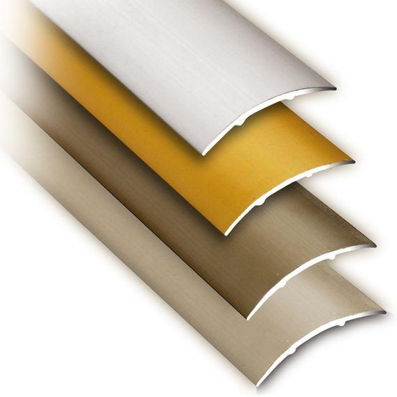mako quickFIX Übergangsprofil Klebebefestigung 100cm x 3cm in 4 Farben – Bild 1