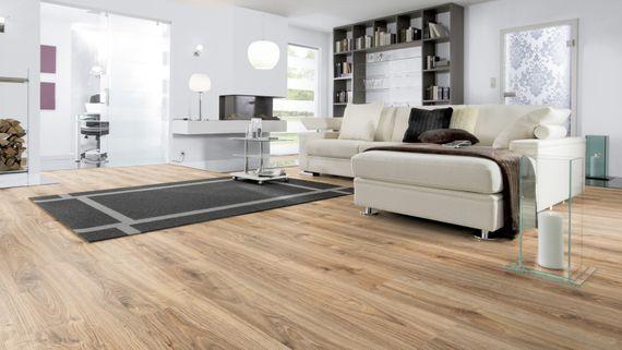 WINEO Purline Klebe Bioboden Planke Wood Dekor Sonoma Oak Feuchtraumgeeignet – Bild 6