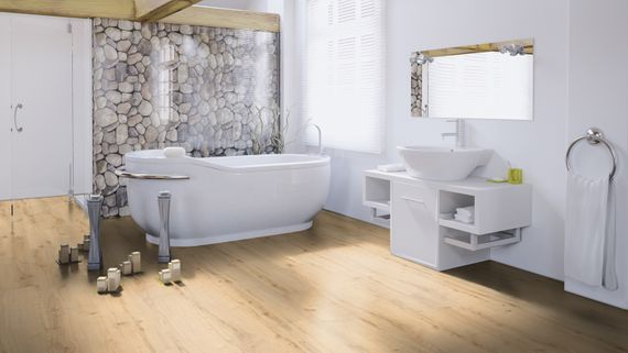 WINEO Purline Klebe Bioboden Planke Wood XL Dekor Garden Oak Feuchtraumgeeignet – Bild 5