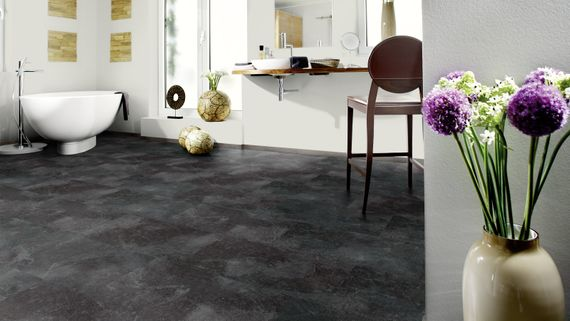 WINEO Purline Klebe Bioboden Planke Stone Dekor Jura Slate Feuchtraumgeeignet – Bild 6