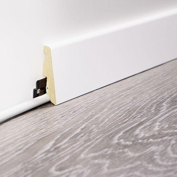 WINEO 19 / 58mm Sockelleiste Fußleiste Dekor Clay Calm Oak MDF-Träger – Bild 2