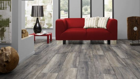 Kronotex Laminat Exquisit plus Dekor D3572 Harbour Oak Grey 1-Stab V4 Fuge  – Bild 4
