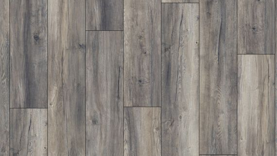 Kronotex Laminat Exquisit plus Dekor D3572 Harbour Oak Grey 1-Stab V4 Fuge  – Bild 3