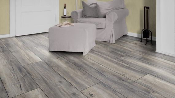 Kronotex Laminat Exquisit plus Dekor D3572 Harbour Oak Grey 1-Stab V4 Fuge  – Bild 7