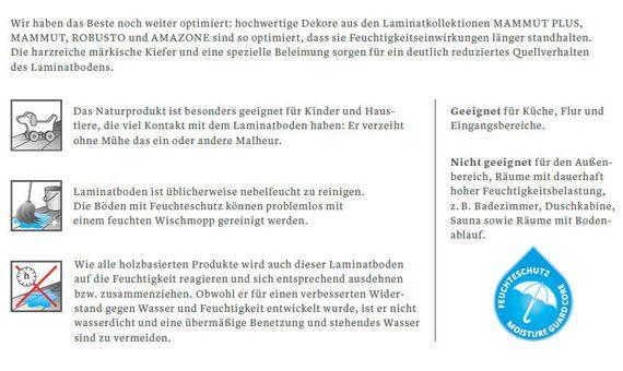 KRONOTEX Laminat Mammut plus Nordland Eiche D4738 LHD 1-Stab 4-V-Fuge mit Feuchteschutz – Bild 13
