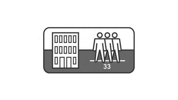 KRONOTEX Laminat Robusto Saverne Eiche D3074 LHD 1-Stab 4-V-Fuge – Bild 9