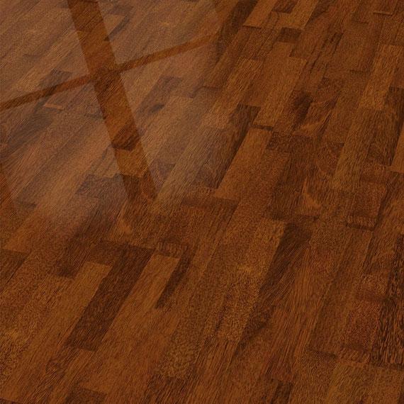 ELESGO Laminat Shiny Life Superglanz Hochglanz floor Merbau Classic – Bild 1