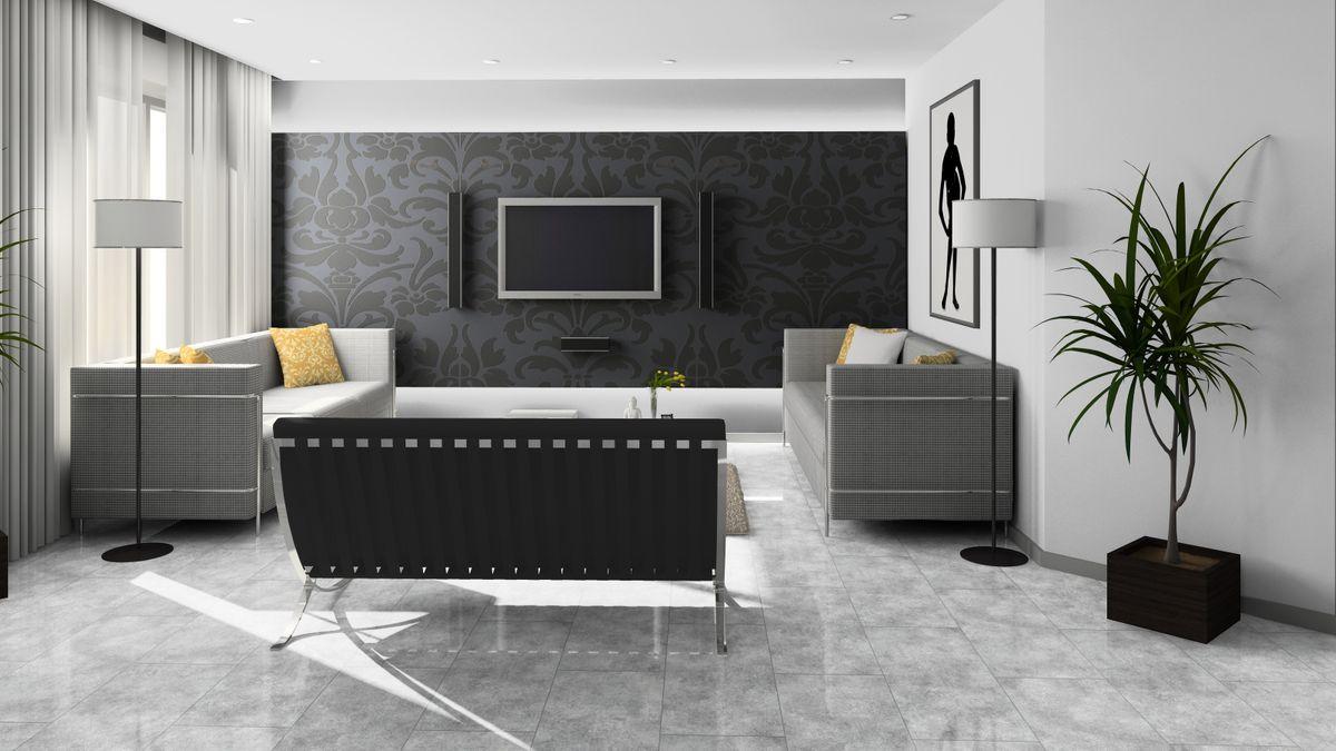 KRONOTEX Laminat Glamour Solino D3528 Fliesenoptik Steinoptik V4-Fuge Hochglanz – Bild 7