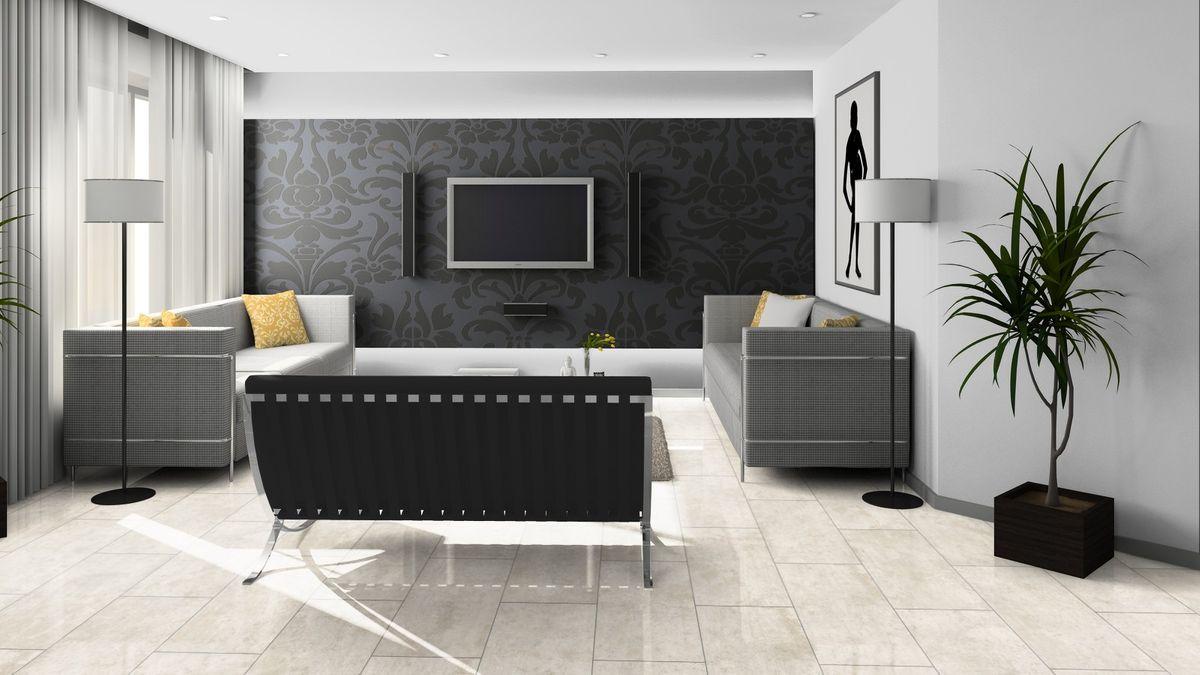 KRONOTEX Laminat Glamour Loft Hochglanz Fliesenoptik Steinoptik V4-Fuge Artikel-Nr.: D3547 – Bild 5