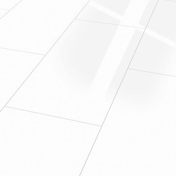 KRONOTEX Laminat Glamour White Hochglanz Fliesenoptik in weiß mit V4-Fuge Artikel-Nr.: D2935 4V – Bild 1