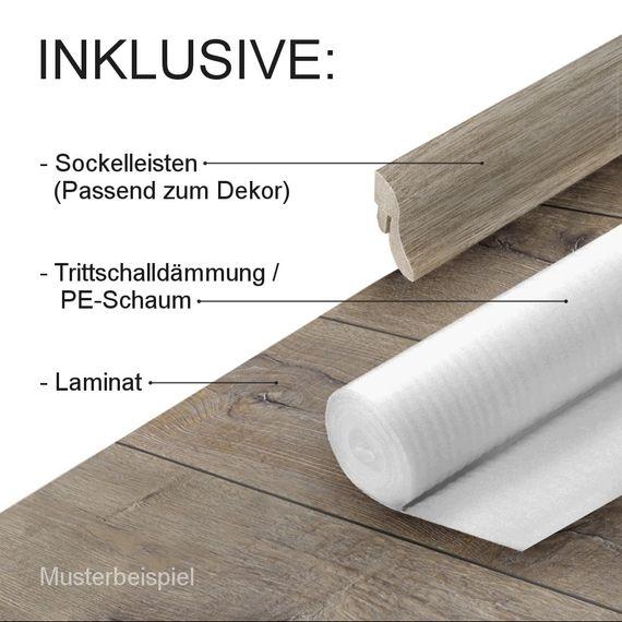 KRONOTEX Laminat Exquisit Komplettangebot Nr. 2 LHD 4-V-Fuge 14 neue Dekore – Bild 2